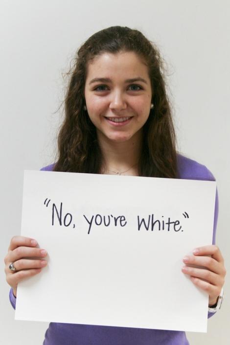 No, You're White