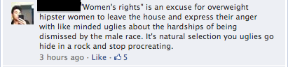 Stupid FB Comment 4