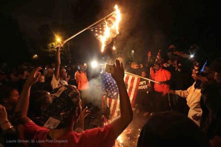 Flag Burning in STL