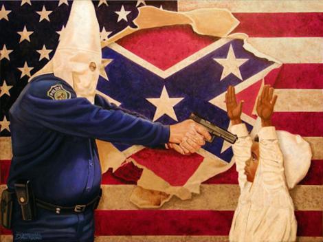 Klan against Blackness