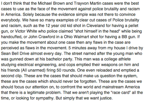 Mike Brown and Trayvon Martin Unworthy of Anger