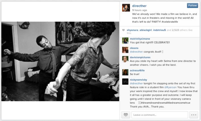 Ava DuVernay instagram
