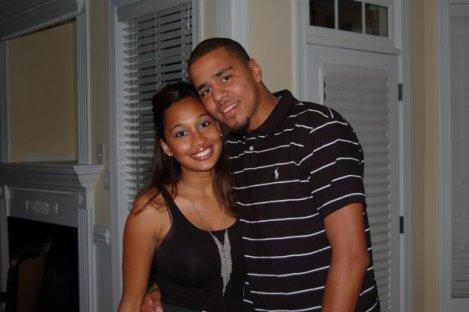 J Cole and Melissa