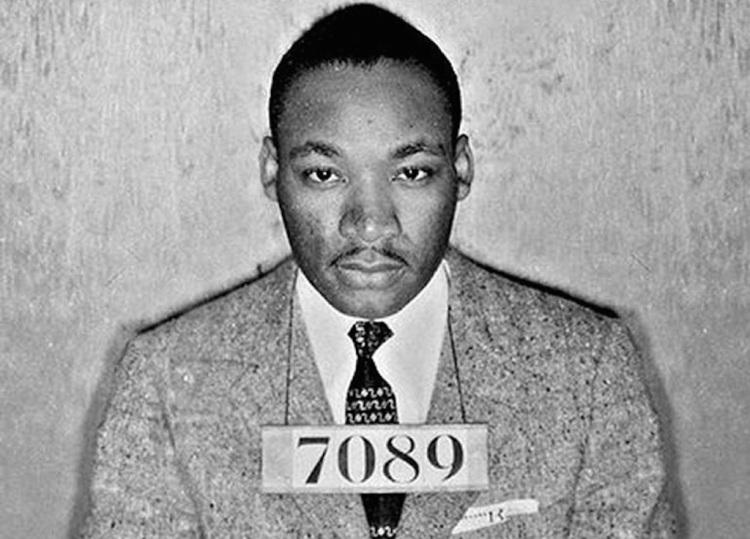 Martin Luther King Mugshot