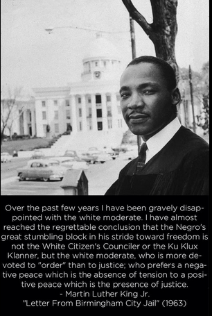 MLK and white moderates
