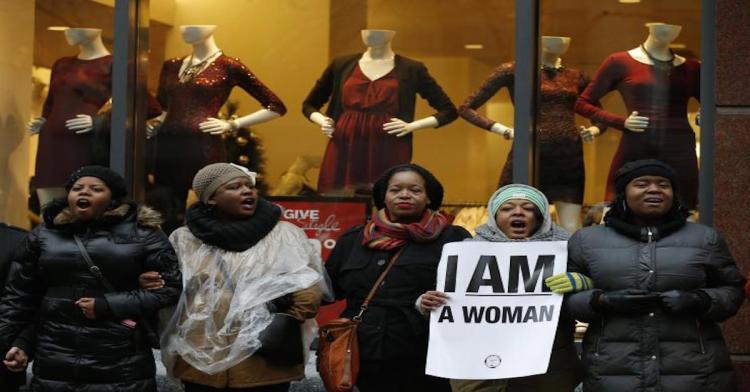 black friday chicago protest