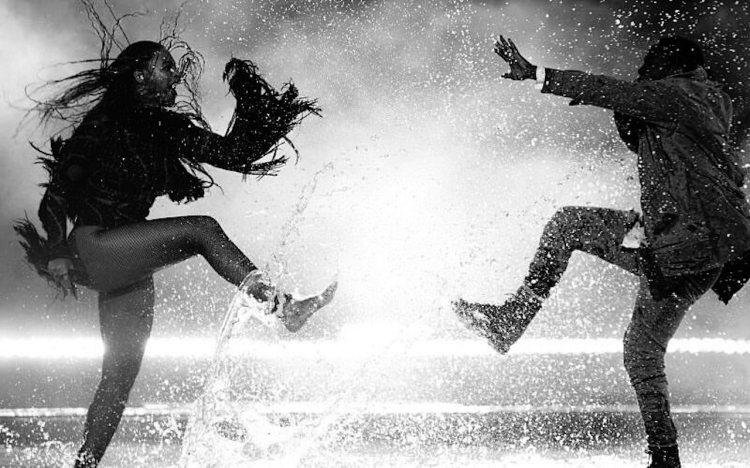 Kendrick Lamar and Beyonce